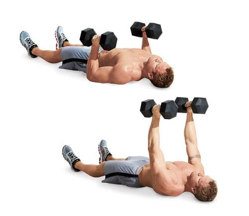 best use of Dumbbell Floor press at gym