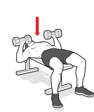 Dumbbell chest workout for good chest