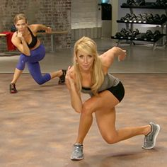 Bowlers piyo workout move