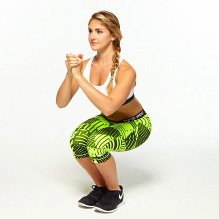 Narrow Squat piyo workout