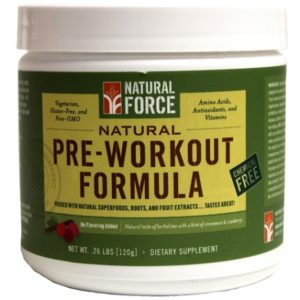 natural pre workout supplement