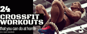 24 CROSSFIT workout at home