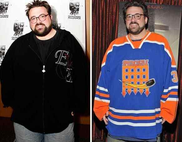 Kevin Smith Weight loss 50 Pounds