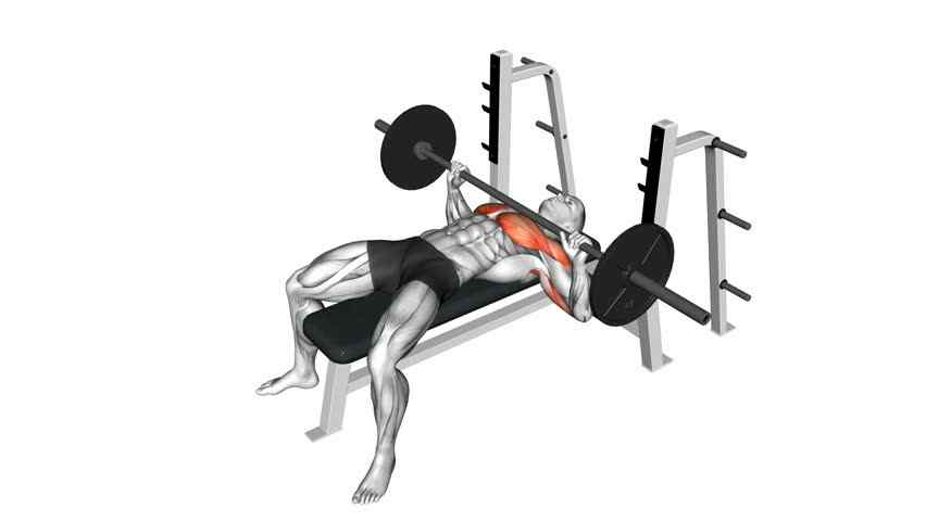 Incline Bench Press Form - Workout Your Upper Chest ... |Flat Bench Press Muscles Worked