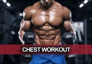 Chest workouts at home