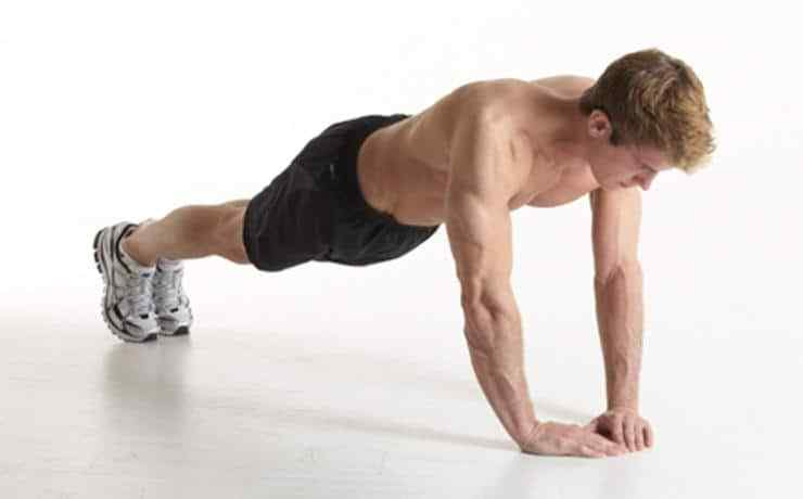 Diamond Press Ups for chest workout