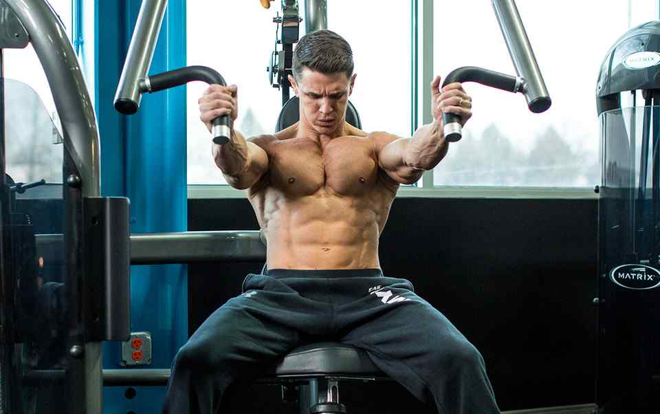 Seated Chest Press Machine at home