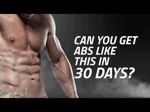 30 days abs challenge