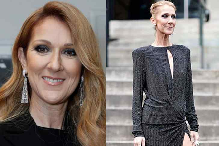 Celine Dion Health After and Before of Weight Loss