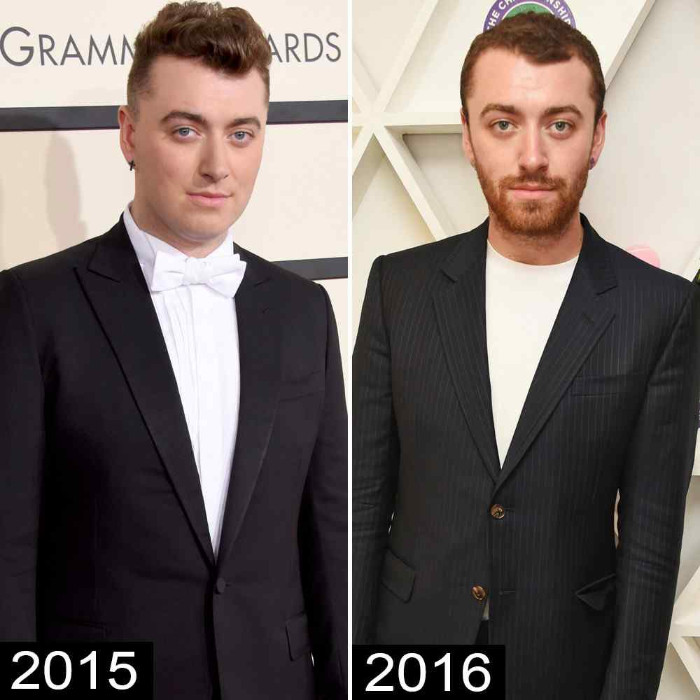 sam smith loses 14 pounds