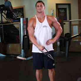 Standing Cable Lateral Raise