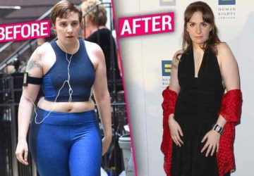 Lena Dunham Weight Loss Focus