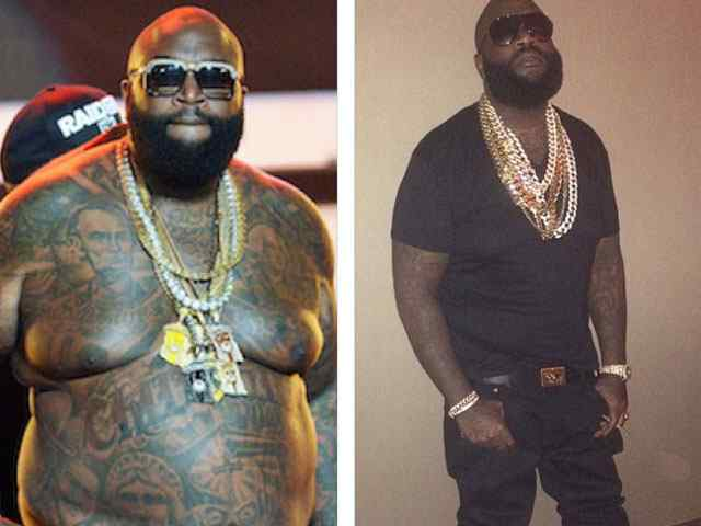 An Amazing Journey of Rapper Rick Ross Weight Loss