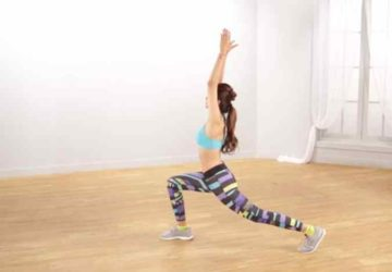 Begin with a mini warm-up routine..