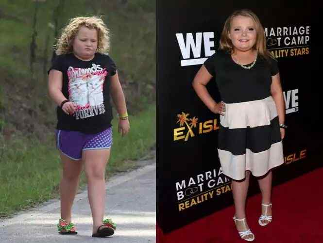 How Honey Boo Boo Reduced Her Weight