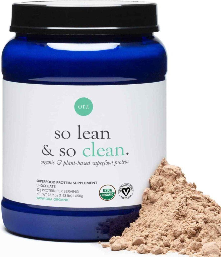 Ora Organic Vegan Protein Powder - 22g Plant-Based Protein Powder for Women and Men