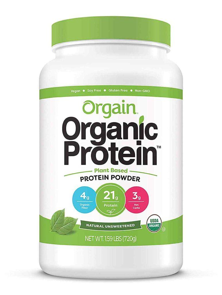 Organic Organic Plant-Based Protein Powder, Natural Unsweetened