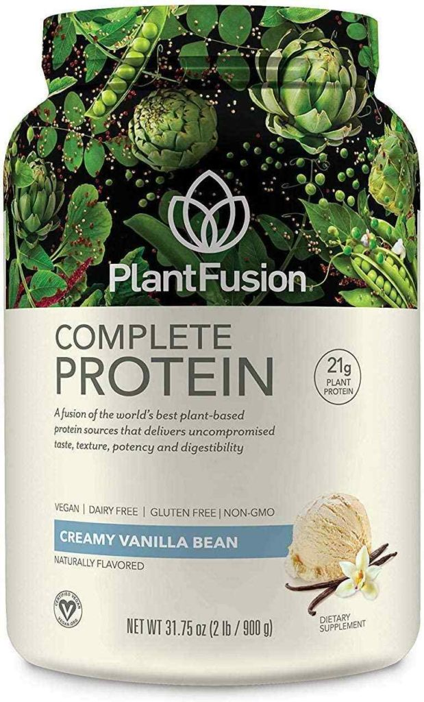 Plant Fusion Complete Plant-Based Pea Protein Powder