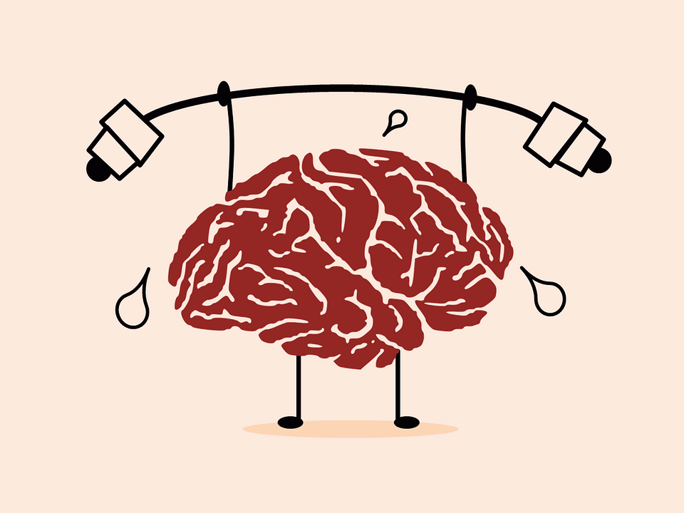 Exercise and eat healthy food for mental health